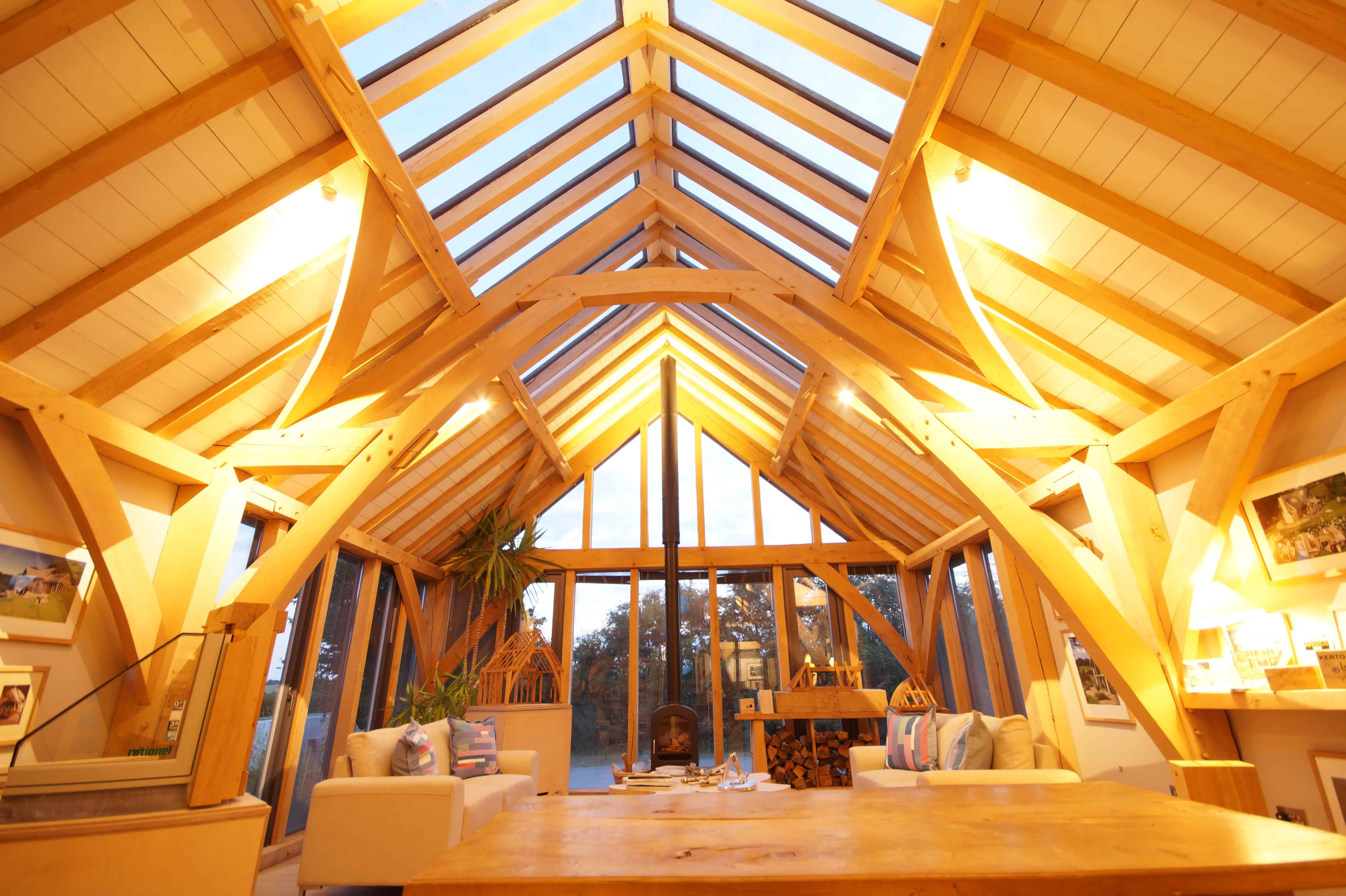 partners - Carpenter oak show barn
