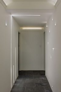 Composite Corridor at our showroom in the Cotswold's